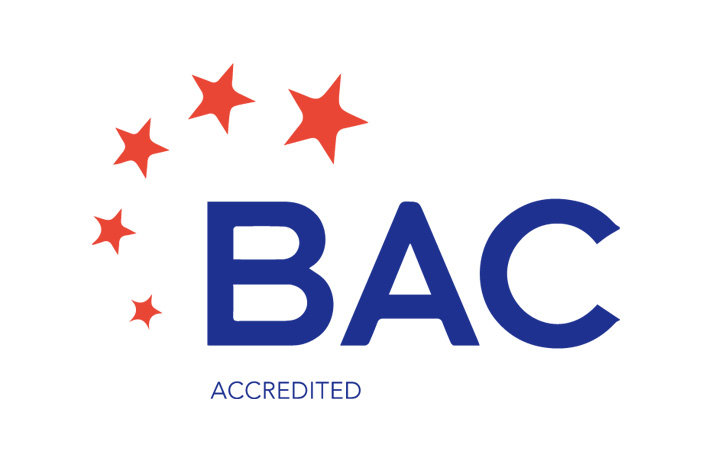 BAC Accredited Logo